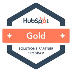 HubSpot Gold Solutions Partner Agency