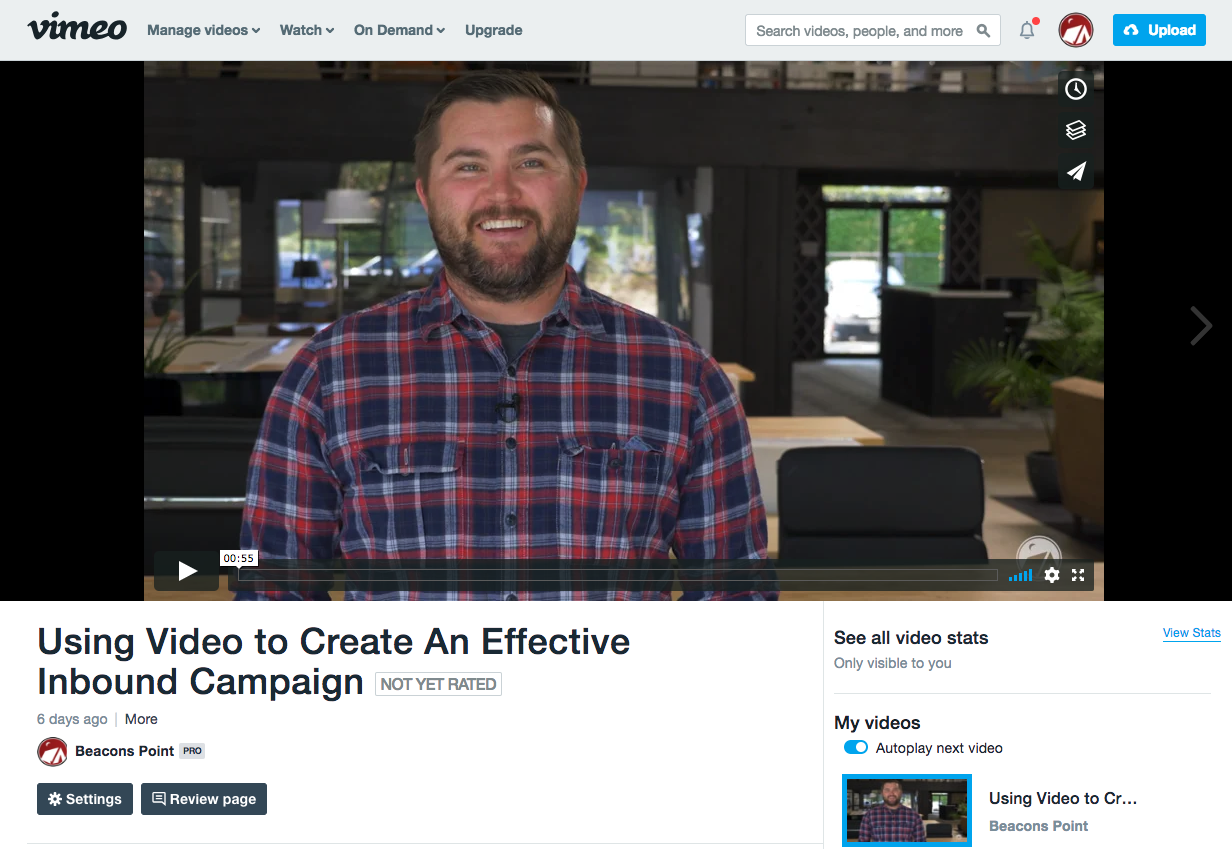 Vimeo - Video Tools